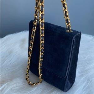 Suede Smartphone Bag